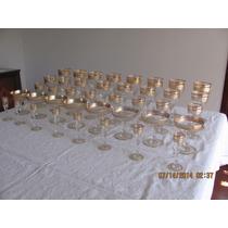 Copas De Baccarat De Oro Con Sellos De Agua