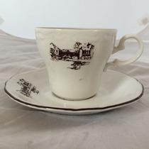 Juego Taza Y Plato De Porcelana China Para Su Coleccion