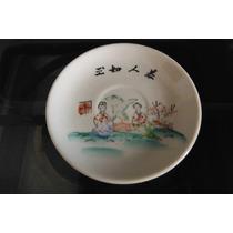 Plato Oriental Porcelana Tradicional China Asia