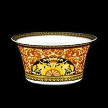 Versace Open Bowl D Porcelana Rosenthal Oro 24 K Alemana Hm4