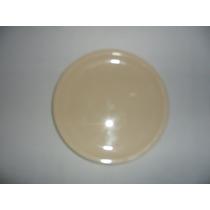 Trinche Plato Plástico 22 Cm Color Beiges Buena Calidad