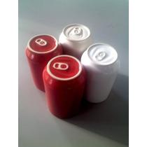 Set 4 Tazas Latas De Ceramica