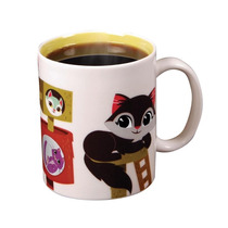Taza Kitty Gatos Termica Cambia Con Bebidas Calientes