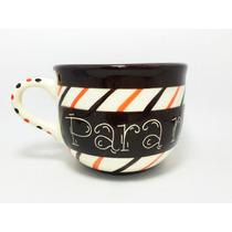 Súper Tazas Artesanales Diseño 600 Ml Tazotas Ceramica Hno1