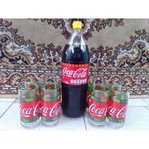 Vasos Tome Coca Cola Colección Vidrio Cristal Retro Vintage