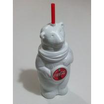 Oso De Plástico De Coca Cola Con Popote