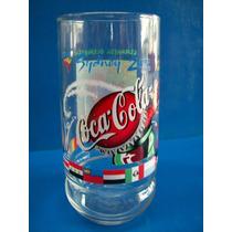 Vaso De Vidrio Coca Cola Sidney 2000
