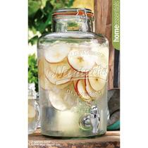 Dispensador De Bebidas Y 6 Drinking Jars (tipo) Mason