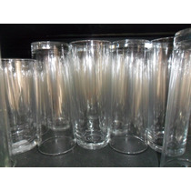 Vaso Jaibolero Liso De Cristal Mayoreo Lote De 3,500 Piezas