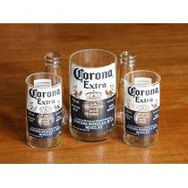 Vasos De Botellas Reciclados Cortados A Mano.