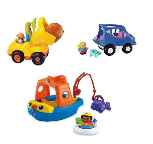 Vehiculos Little People Fisher Price Gran Surtido