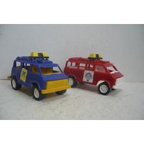 Camioneta Van Set De 2 - Camioncito D Juguete Escala