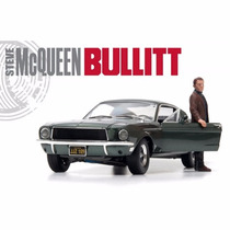 Greenlight Ford Mustang 1/18 Fastback 68 Mcqueen Bullitt