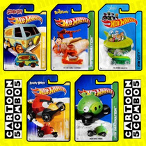 Hot Wheels Cartoon Colección Hanna-barbera Angry Birds