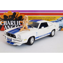 Ford Mustang Cobra Ii 1976 Charlie´s Angels Greenlight 1:18