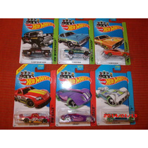 Carritos Hot Wheels Lote De 6, Nuevos, Envio Gratis!!!!!!!!!