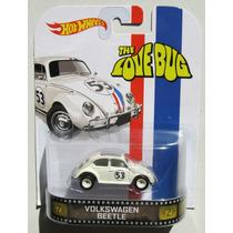 --- Herbie Cupido Motorizado Hotwheels Retro Serie 1:64 --