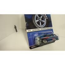 Hotwheels Heritage Chevy Wagon Llantas De Goma Ganalo...!!