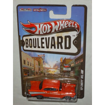 Hot Wheels Boulevard 57 Chevy Bel Air Llantas De Goma