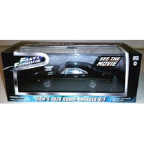 Greenlight Dodge Charger Rt 1/43 Rapido Furioso Fast Furious