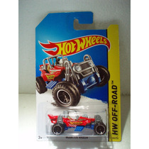 Hot Wheels Mountain Mauler Rojo 103/250 2014