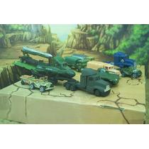 Lee Anuncio X Transportes Militar Lote 9 Miniaturas Esc 1/87