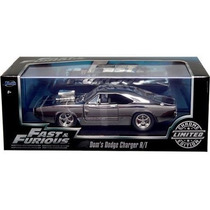 Jada Dodge Charger 1/24 Limited Edition Chrom Rapido Furioso