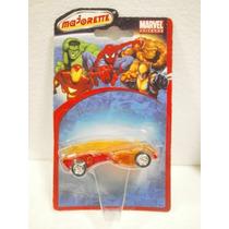 Majorette Marvel Universe 4 Fantasticos Antorcha Humana 1:64