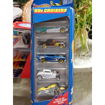 Hot Wheels, Paquete De 5 Coches, Año 1998. Esc 1:64. Raro