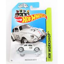 Hot Wheels Volkswagen Beetle Herbie Cupido Motorizado