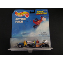 Hotwheels Action Pack Snow Plowers Nuevo 100% Foto Real!!!!