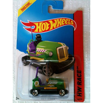 Hot Wheels Bump Around (verde) Batman, Bus Escolar Y Mas