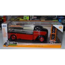 1:24 Ford Coe 1947 Grua De Plataforma Jada C Rines Extra