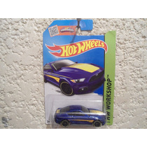 Ford Mustang Gt 2015 (azul) - Hot Wheels - 1/64