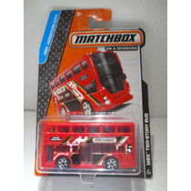 Matchbox Camion Autobus Bus Two-story Bus Doble Piso Rojo