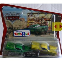 Cars Ramone Verde Ramone Amarillo Coches Dobles De Pelicula