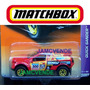 Matchbox Quick Sander 2010, Camioneta A Escala 1:64