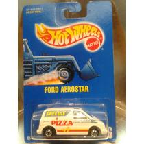 Hot Wheels - Ford Aerostar De 1992 Speedie Pizza En Blister