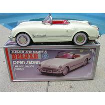 Corvette Open Sedan De New Toy Fricción 1:18 Nuevo Vv4