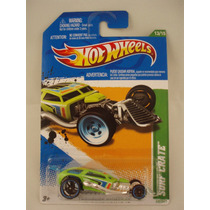 Hot Wheels T Hunt Surf Crate Verde 1:64 63/247 2012