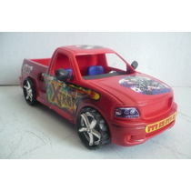 Camioneta Pickup Ford - Camioncito D Plastico Juguete Escala