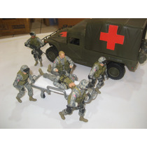 Camilla Para Tus Soldados Escala 1/18 Gi-joe Bbi Usa Army