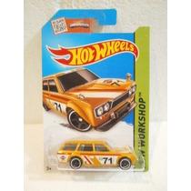 Hot Wheels 71 Datsun Bluebird 510 Wagon Amarillo202/250 2015