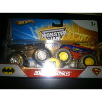 Hot Wheels De Coleccion Monster Jam Batman Vs Superman Op4
