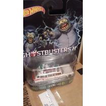 Hotwheels Retro Ecto 1a Caza Fantasmas Ghostbusters Ii