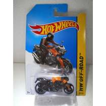 Hot Wheels Motocicleta Bmw K 1300 R Naranja 127/250 2014