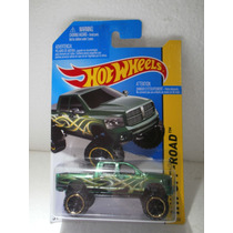 Hot Wheels Camioneta Dodge Ram 1500 Verde 133/250 2014