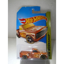 Hot Wheels Camioneta Custom 69 Chevy Pickup 217/250 2014