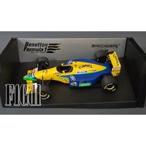 F1 Camel Benetton Ford B191-b Michael Schumacher Año 1991-92