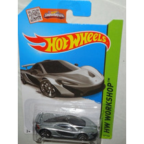 Hot Wheels Mclaren P1 Gris